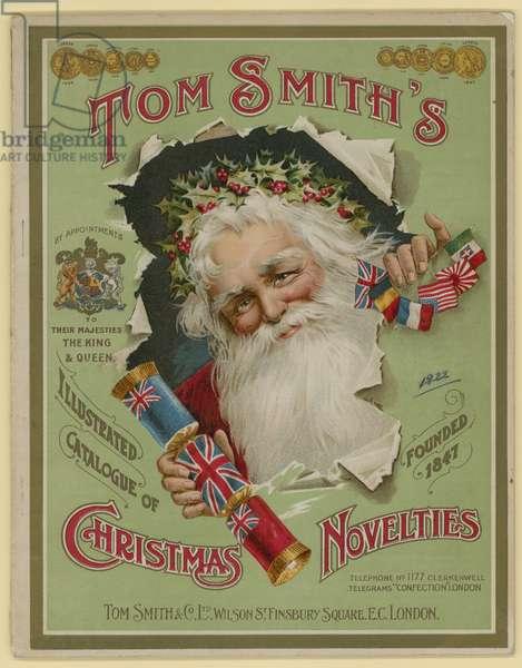 Tom Smith & Co Ltd, Christmas Novelties, Christmas Crackers, Brochure cover (chromolitho)