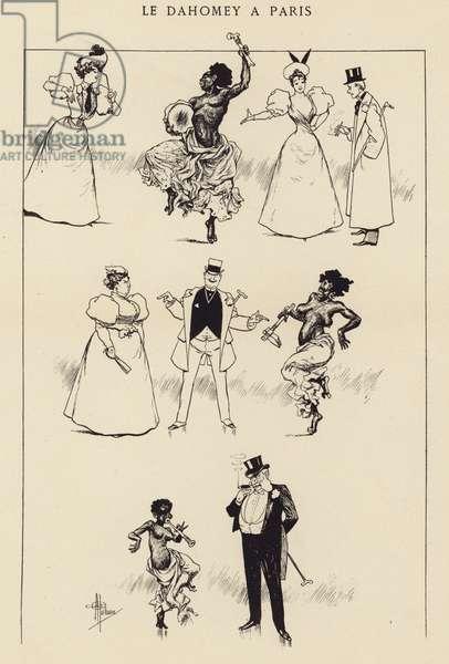 Le Dahomey a Paris (engraving)