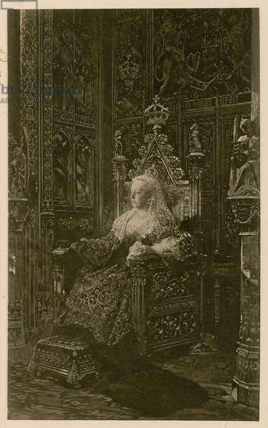 Portrait of Queen Victoria (photogravure)