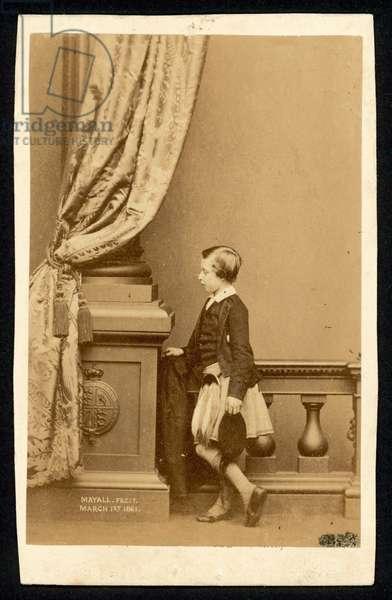 Prince Arthur (b/w photo)