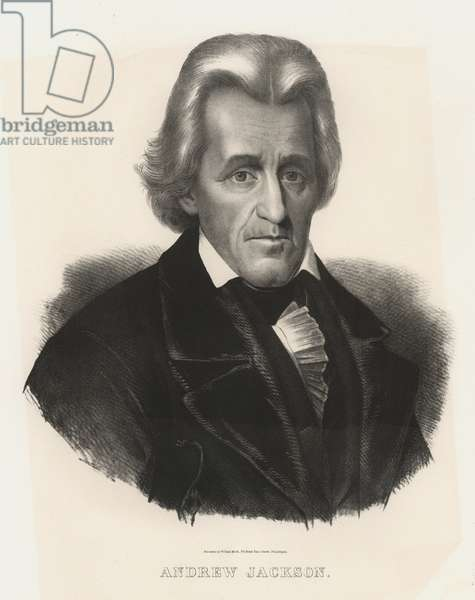 Andrew Jackson, seventh President of the United States of America (litho)
