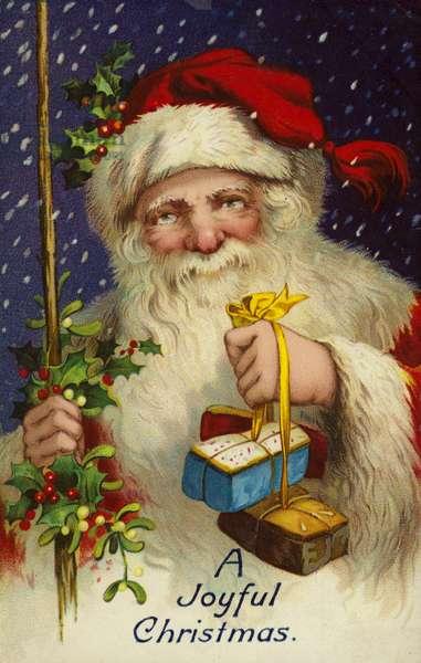 A Joyful Christmas (colour litho)