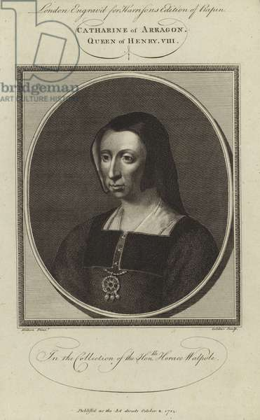Catherine of Aragon (engraving)