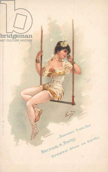 Souvenir from the Barnum & Bailey Greatest Show on Earth (colour litho)