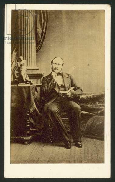 Albert, Prince Consort (b/w photo)
