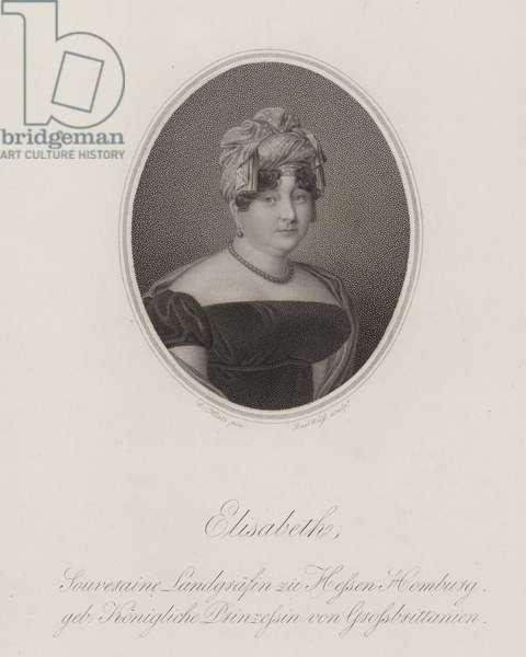 Princess Elizabeth of the United Kingdom (engraving)