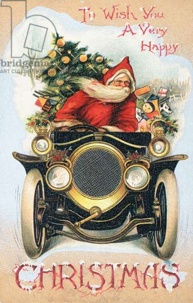 British Christmas card (colour litho)