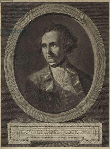 Portrait of Captain James Cook (engraving)