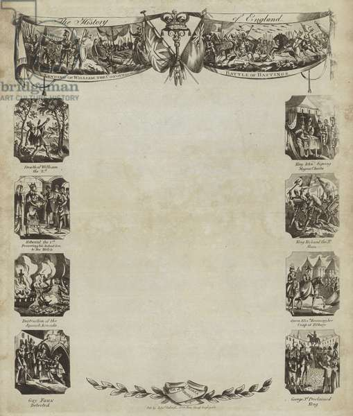 The History of England (engraving)