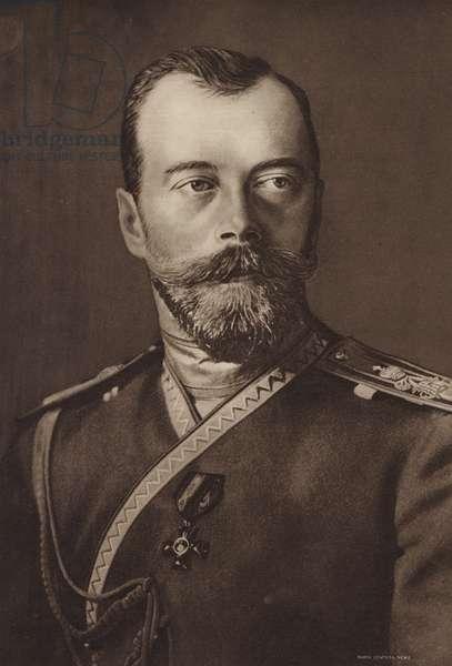 Nicholas II, Czar of Russia (b/w photo)