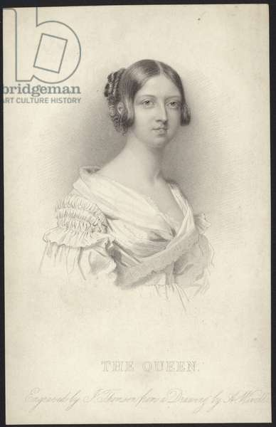Portrait of Queen Victoria (engraving)