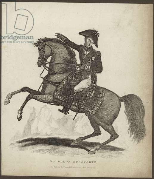 Portrait of Napoleon Bonaparte (engraving)