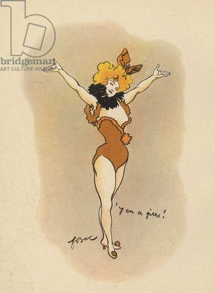 Dancer (colour litho)
