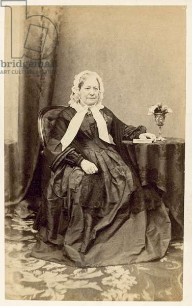 Duchess of Kent, Queen Victoria's mother (b/w photo)