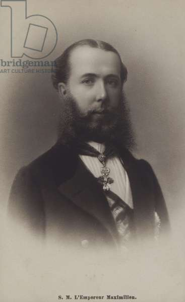 Emperor Maximilien Of Mexico (b/w photo)