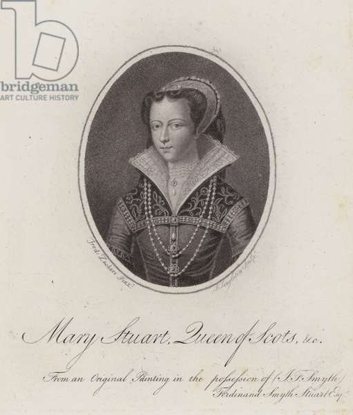 Mary Stuart, Queen of Scots (engraving)