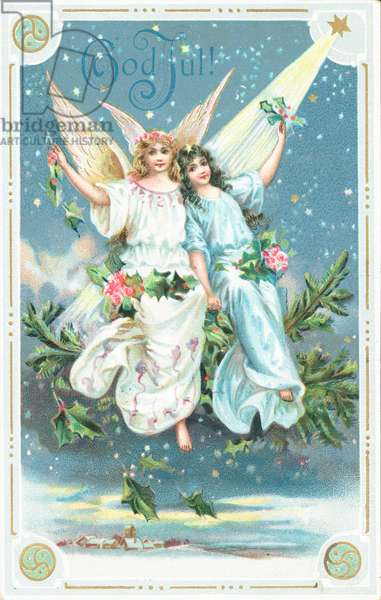 Christmas card (chromolitho)