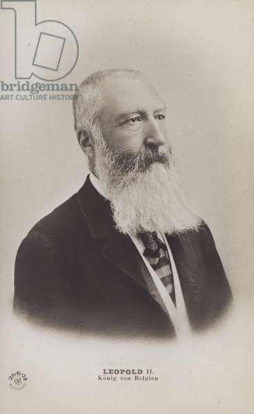 King Leopold II Of Belgium (b/w photo)