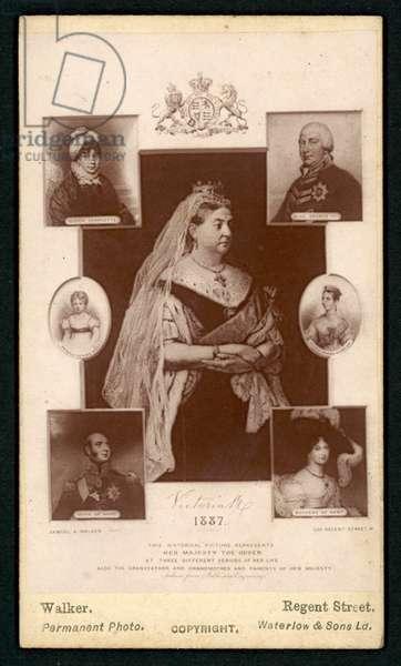 Golden Jubilee of Queen Victoria (litho)