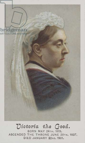Queen Victoria (chromolitho)