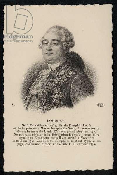 Roi Louis XVI (litho)