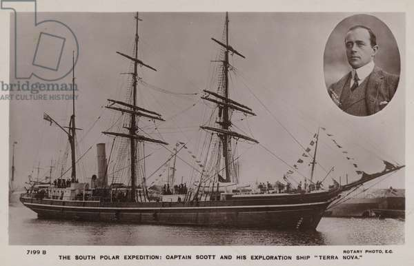 The South Polar Expedition: Captain Scott and his exploration ship