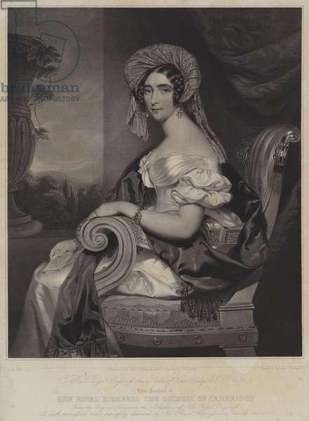 The Duchess of Cambridge, 1842 (litho)