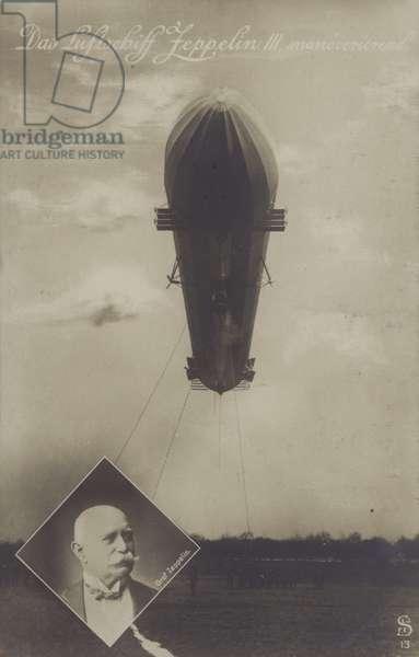 Zeppelin LZ III (b/w photo)