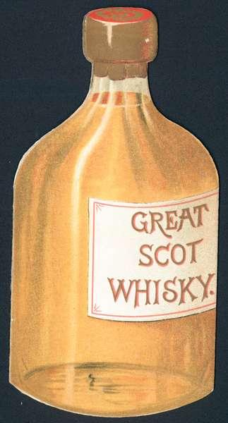 Great Scot Whisky, Card (chromolitho)