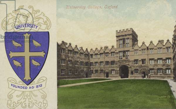University College, Oxford (colour photo)