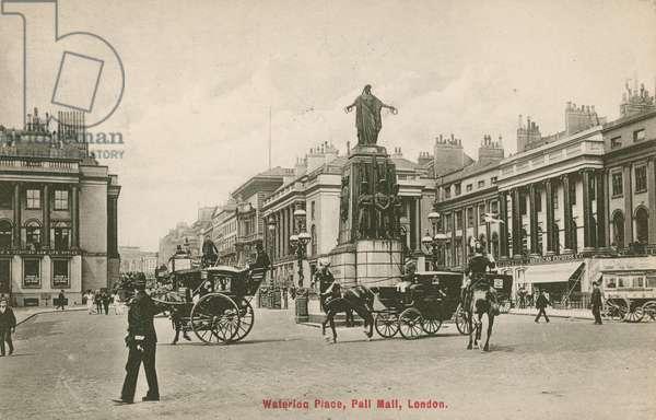 Waterloo Place, Pall Mall, London (photo)