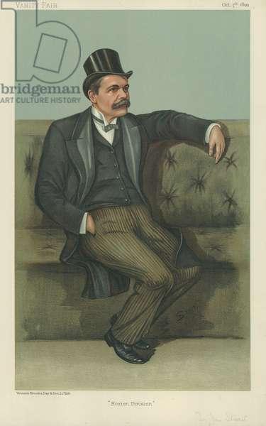 Dr James Stuart (colour litho)