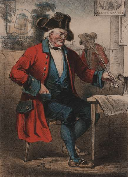 Chelsea Pensioner, The Life of a Soldier (colour litho)