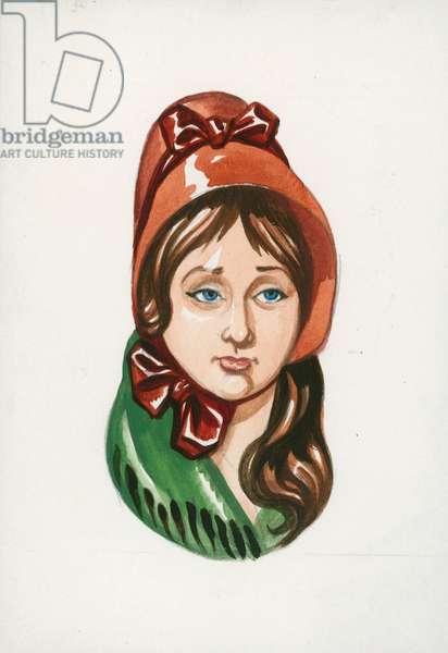 Nancy, Oliver Twist (gouache on paper)