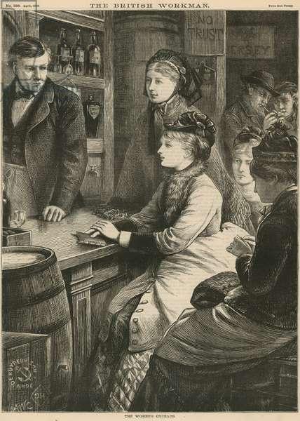 The women's crusade (engraving)