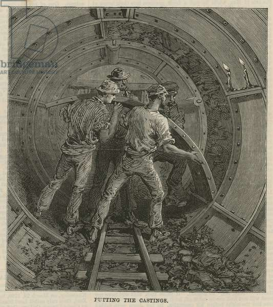 The Thames Subway (engraving)
