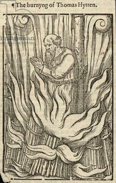 The burning of Thomas Hytten (engraving)