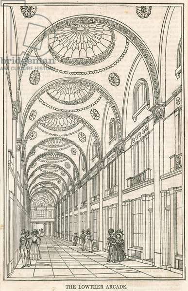 Lowther Arcade, Strand, London (engraving)