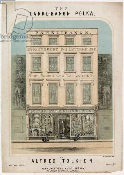 The Panklibanon Polka (colour litho)