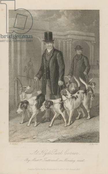 At Hyde Park Corner (engraving)
