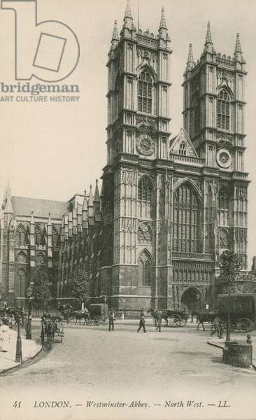 London, Westminster Abbey, North West (photo)