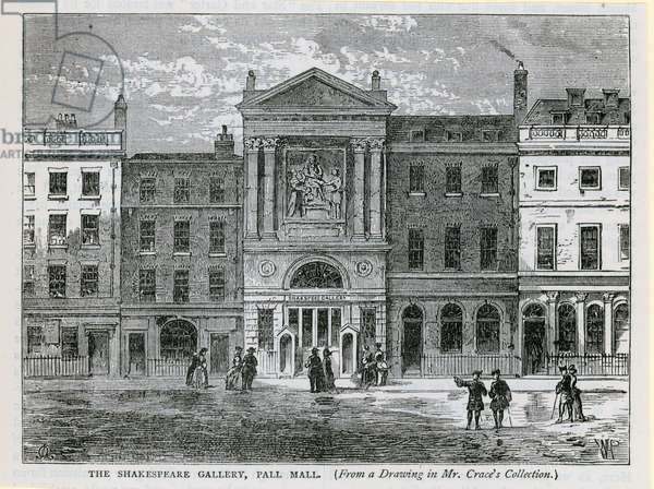 The Shakespeare Gallery, Pall Mall, London (engraving)