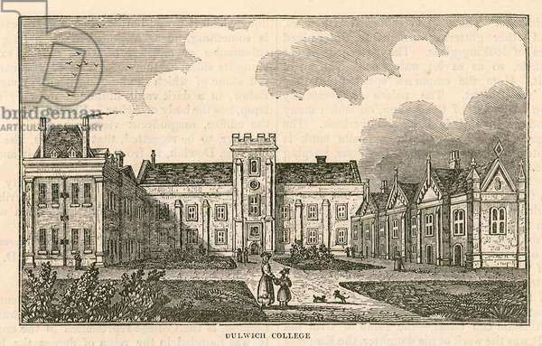 Dulwich College, London (engraving)