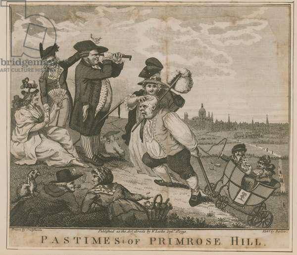Pastimes of Primrose Hill (engraving)