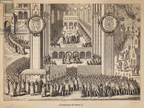 The Coronation of King James I (engraving)