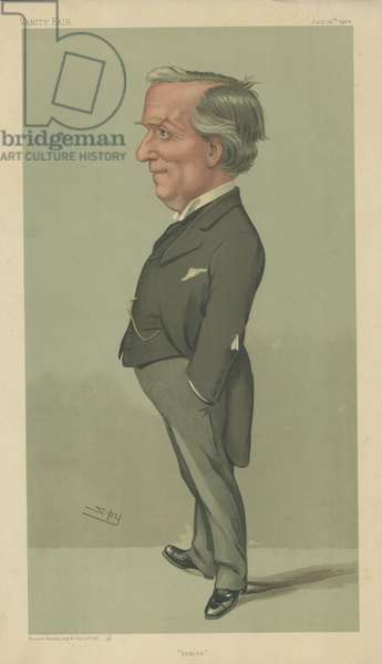The Right Honourable Herbert Henry Asquith (colour litho)