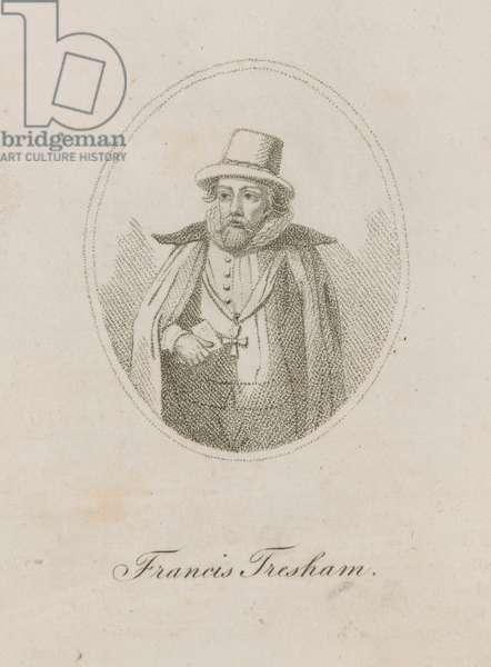 Francis Tresham, a member of the Gunpowder Plot (engraving)