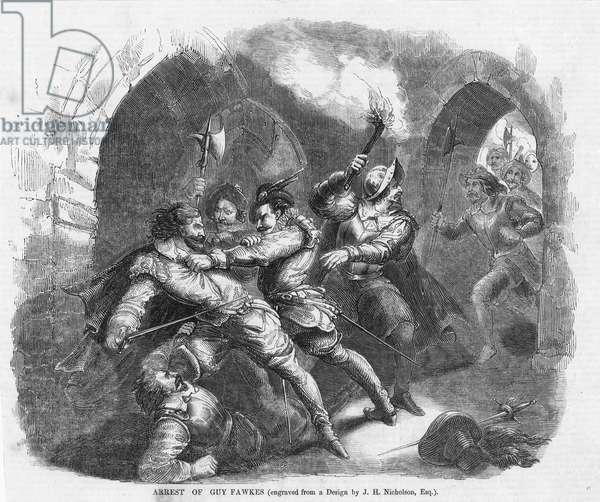 Gunpowder Plot (engraving)