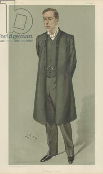 Reverend Bertram Pollock (colour litho)
