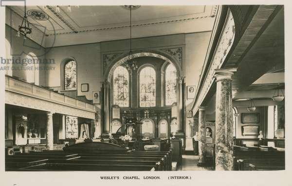 Wesley's Chapel, London (photo)